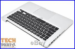 13 MacBook Pro 2011 2012 TOP CASE PALMREST + TRACKPAD + KEYBOARD A1278 / B
