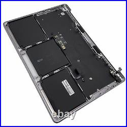 13 MacBook Pro M1 2020 Space Gray PalmRest Top Case Keyboard+Touch Bar A2338 A+