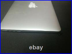13 MacBook Pro Retina A1502 Cracked LCD Screen Assembly Top Case 2013 2014