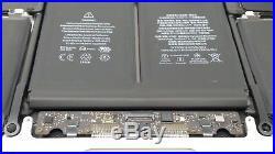 13 MacBook Pro Retina A1502 Top Case Keyboard Battery Trackpad 2015 / 020-00011