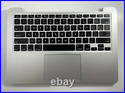 13 MacBook Pro Retina A1502 Top Case Keyboard Battery Trackpad Early 2015, A