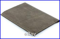13 inch MacBook Pro Thick Natural Brown Leather Sleeve Case Vintage