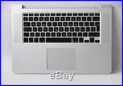 15,4 MacBook Pro Retina A1398 TopCase Tastatur Gehäuse Late 2012 / Early 2013