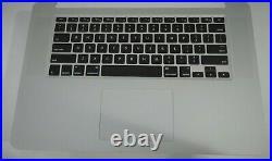 15 Apple MacBook Pro Retina A1398 Top Case Keyboard TrackPad Mid 2015 / A