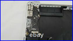 15 MacBook Pro A1398 Top Case Keyboard Trackpad Late 2013 Mid 2014 / 133 cycle