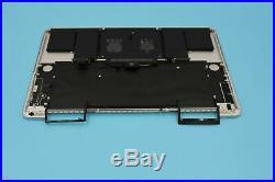 15 MacBook Pro Retina Top Case Keyboard Trackpad Battery A1398 Mid 2015