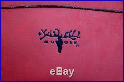 15 Macbook Pro The Leather Shop Moose Maroon Leather Business Shoulder Bag Case