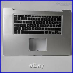 17 Topcase Tastatur Palmrest Gehäuse Apple MacBook Pro A1297 2009 805-9440