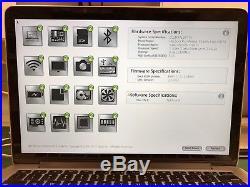 2013 Apple MacBook Pro 13 Logic Board Complete Top Case 2.4 4gb 820-3536-A A1502