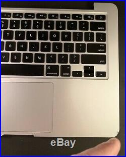 2015 A1502 13 MacBook Pro Top Case Keyboard Battery A1582 Palmrest Oem