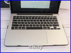 2015 APPLE MACBOOK PRO 2.70GHz i5, 8GB OF RAM, 128GB SSD MF839LL/A WITH CASE