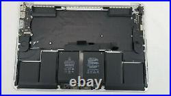 2015 Apple MacBook Pro Retina A1398 Top Case Keyboard Trackpad Battery 124 cycl