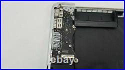 2015 Apple MacBook Pro Retina A1398 Top Case Keyboard Trackpad Battery. 63 Cycl