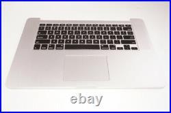 661-02536 Apple Top Case Keyboard Battery A1398 MACBOOK PRO RETINA 15 MID 2015