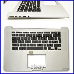 A1398 DE Topcase Handauflage mit Tastatur für MacBook Pro Retina 15 2012 -13