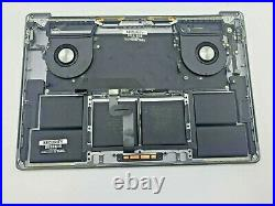 A2141 OEM TOP CASE SPACE GRAY MacBook Pro 16 2019 Top Case Assembly WithBattery