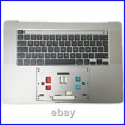 A2141 Topcase Tastatur mit Backlight für Apple Macbook Pro Retina 16 2019 DE