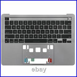 A2338 Topcase Tastatur mit Backlight für Apple Macbook Pro Retina 13 2020 Grau
