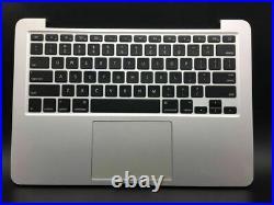 APPLE 2015 A1502 13 MacBook Pro Top Case Keyboard Battery A1582 Palmrest Grd B