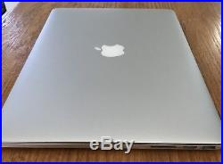 APPLE MACBOOK PRO 15.4 RETINA 2.4Ghz i7 8GB EARLY 2013 EXCELLENT COND+CASE+MOUSE
