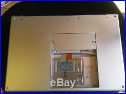 APPLE MACBOOK PRO A1260 2.4 GHz 2008 LOGIC BOARD, BOTTOM CASE C2D NVIDIA