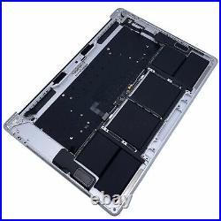 Apple 15 MacBook Pro Silver Top-Case Keyboard + Battery 2018 2019 / A1990 / A