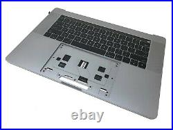 Apple 15 MacBook Pro Space Gray Top Case Keyboard Battery 2016 2017 / A1707