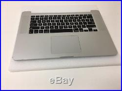 Apple A1398 MacBook Pro 15 Retina Top case Plamrest with Battery Late 2013