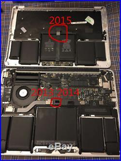 Apple MacBook Pro 13 A1502 2015 Top Case A1582 Battery Keyboard TrackPad GRD B