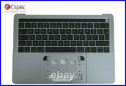 Apple MacBook Pro 13 A1706 Palm rest UK Keyboard 2016 2017 Top Case