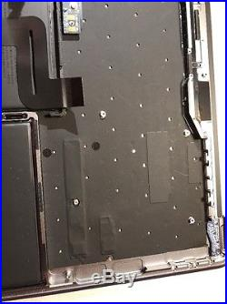 Apple MacBook Pro 13 Late 2016 Space Grey Top Case / Keyboard/Track Pad/ Batt