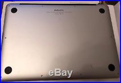 Apple MacBook Pro 13 Retina 2.7ghz 8GB 128GB MF839B/A + Case & Shell Bundle