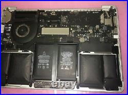 Apple MacBook Pro 13 Retina A1502 (Early 2015) Logic Board with Upper Case