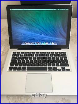 Apple MacBook Pro 13-inch, Late 2011 (Used, OSX Mavericks, 500GB) +Sleeve+Case