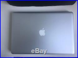 Apple MacBook Pro 15.4 i7 2012 16Gb Ram 750Gb HDD EMF proof leather case bundle