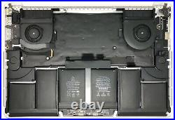 Apple MacBook Pro 15 A1398 Mid 2015 Top Case withTrackpad, Battery, Plus More