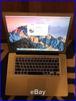 Apple MacBook Pro 15 Apple Custom Build With Case