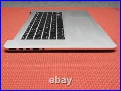 Apple MacBook Pro 15 Mid 2015 (A1398) Top Case Palmrest Assembly & Bottom Panel