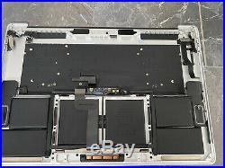 Apple MacBook Pro 15 TopCase Palmrest A1707 2016 2017 Silber Deutsch