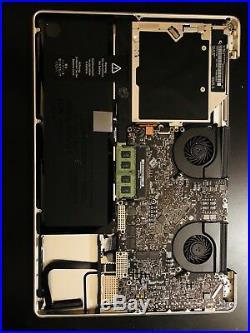 Apple MacBook Pro 17 A1297 Top Case + Logic Board Battery Dvd Mid 2009