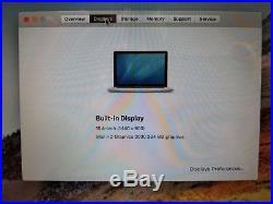 Apple MacBook Pro A1286 15.4 Laptop With Microsoft Office 2011 & Samsonite Case