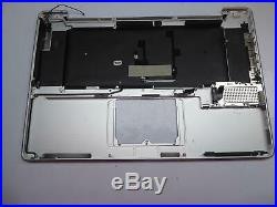 Apple MacBook Pro A1297 17 Topcase Nordic Layout Gehäuse ohne Touchpad #3075