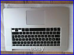 Apple MacBook Pro A1398 15 2015 Topcase Trackpad Deutsche Tastatur Keyboard