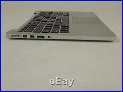 Apple MacBook Pro A1502 Mid 2014 Top Case + i5 2.6GHz 8GB Logic Board 820-3476-A
