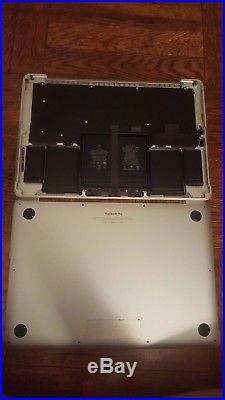 Apple MacBook Pro Early 2015 13 A1502 Top Case/Keyboard/TrackPad/Battery/Bottom