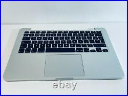Apple MacBook Pro Retina 13 A1502 2015 Palmrest Upper Case Assembly UK Keyboard
