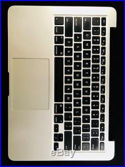 Apple MacBook Pro Retina 13 Top Case Keyboard Battery A1502 2013 2014