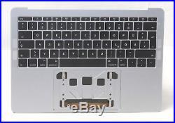 Apple Macbook Pro 13 2016 A1706 Top Case Akku Tastatur QWERTZ