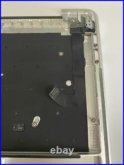Apple Macbook Pro 13 A1706 Topcase Gehäuse DE-Tastatur Trackpad Touchbar Silber