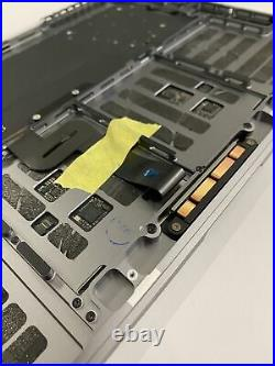 Apple Macbook Pro 15 A1707 Topcase Gehäuse Tastatur Trackpad Touchbar Spacegrau